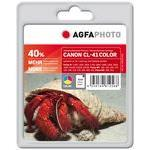 Compatible Inkjet Cartridge - Canon Cl-41c - 24ml - Colour 24ml 40% extra life