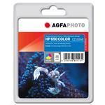 Compatible Inkjet Cartridge - Colour 12ml 200 Pages Hp No 650 CZ102AE/650 200pages 12ml