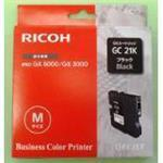Ink Cartridge - GC-21K - 1500 Pages - Black type GC21K 1500pages standard capacity