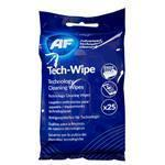 Cleaning Wipes (25) For Technology Equipment for technology equipment