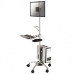 Mobile Workstation (fpma-mobile1800) LCD Arm With Keyboard Mouse Tray                                FPMA-MOBILE1800 10-27 6kg